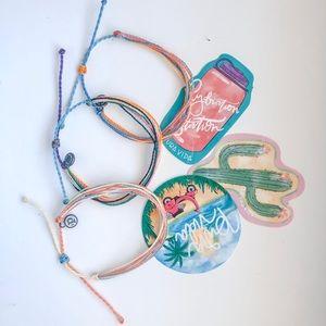 Multi Color Pura Vida Bracelets